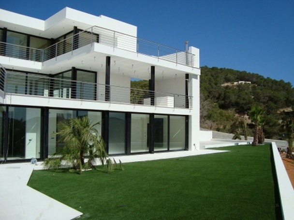 Gallery modern villa projects for Villa moderne