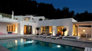 Luxury Villa Rental Ibiza Dela Outside A-01-942